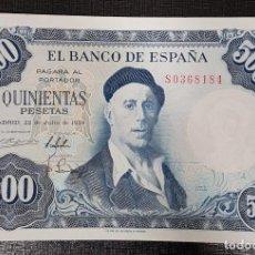 Billetes españoles: BILLETE 500 PESETAS 1954 ZULOAGA. Lote 164603986