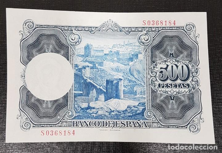 Billetes españoles: BILLETE 500 PESETAS 1954 ZULOAGA - Foto 2 - 164603986