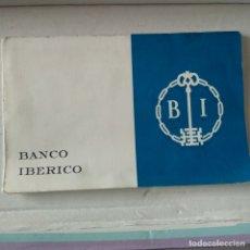 Billetes españoles: 10 BILLETES 100 PESETAS 1965 GUSTAVO ADOLFO BECQUER TALONARIO BANCO IBERICO (BILLETES CORRELATIVOS) . Lote 164920234