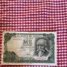 Billetes españoles: BILLETE MIL PESETAS. Lote 165352558