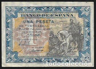 BILLETE 1 PESETA JUNIO 1940 SERIE D - HERNAN CORTES - BILLETE EBC- (Numismática - Notafilia - Billetes Españoles)