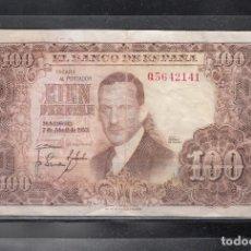 Billetes españoles: 100 PTAS. ROMERO DE TORRES. AÑO 1953. Lote 166940624