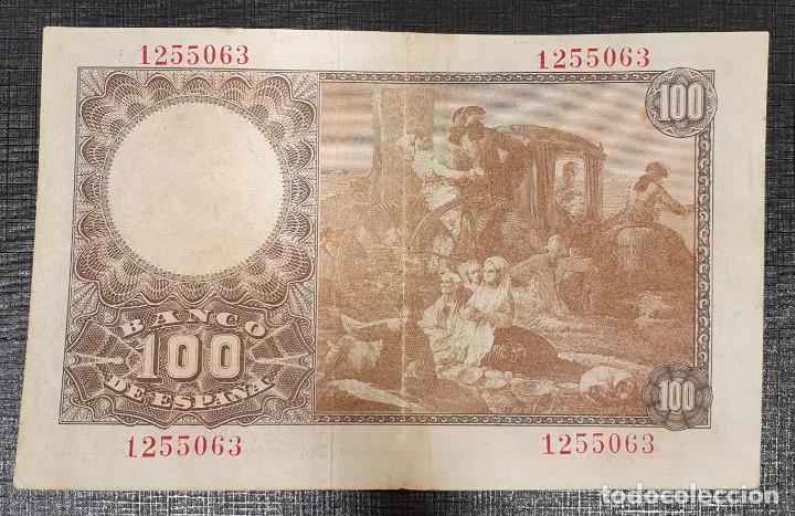 Billetes españoles: BILLETE 100 PESETAS 1948 SIN SERIE BAYEU - Foto 2 - 167462380