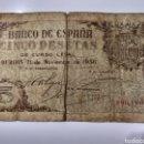 Billetes españoles: RARAS 5 PESETAS DE 1936 BURGOS. Lote 167900741