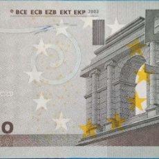 Billetes españoles: 5 EUROS DE LA PRIMERA FIRMA DE DUISENBERG, LETRA U001A DE FRANCIA,SIN CIRCULAR. Lote 168346412