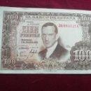 Billetes españoles: 100 PESETAS DE 1953. EBC. Lote 168382100