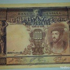 Billetes españoles: BILLETE DE 1000 PESETAS 1925. Lote 168480032