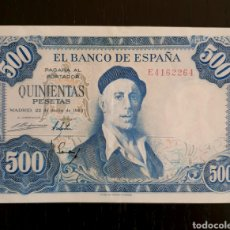Billetes españoles: BILLETE 500 PESETAS 1954, SC, SERIE E. Lote 170956524