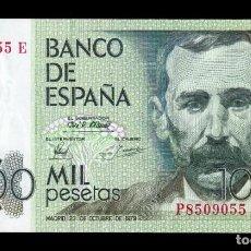 Notas espanholas: ESPAÑA 1000 PESETAS PÉREZ GALDÓS 1979 PICK 158 SC UNC. Lote 201482287