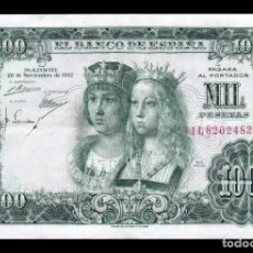 Billetes españoles: ESPAÑA 1000 PESETAS REYES CATÓLICOS 1957 PICK 149 SERIE 1L MBC VF. Lote 171158578