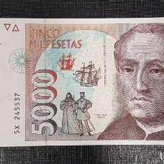 Billetes españoles: BILLETE 5000 PESETAS 1992 COLON. Lote 171175662