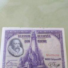 Billetes españoles: BILLETE 100 PESETAS SERIEA. EL DE.LA FOTO. Lote 171623535