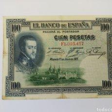 Billetes españoles: BILLETE 100 PESETAS 1925 MBC+. VER FOTO. Lote 171975458