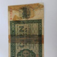 Billetes españoles: BILLETE 100 PESETAS 1936 BURGOS . VER FOTO. Lote 171976907