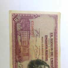Billetes españoles: BILLETE 50 PESETAS 1928. VER FOTO. Lote 171976942