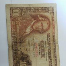 Billetes españoles: BILLETE 100 PESETAS 1948 BC. VER FOTO. Lote 171977380