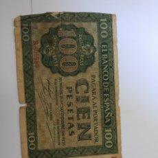 Billetes españoles: BILLETE 100 PESETAS 1936 BURGOS . VER FOTO. Lote 171977439