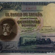 Billetes españoles: 500 PESETAS 1935. Lote 173170280