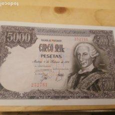 Billetes españoles: 5000 PESETAS 1976. SIN SERIE SC. NUEVO. - 252781. Lote 173172449