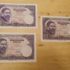 Billetes españoles: 25 PESETAS - ISAAC ALBENIZ - MADRID 22 JULIO 1954 -. Lote 173172648