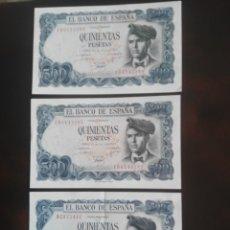 Billetes españoles: 500 PESETAS 1971 - NUEVOS. Lote 173205727