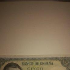 Billetes españoles: BILLETE DE 5 PESETAS. Lote 173406354