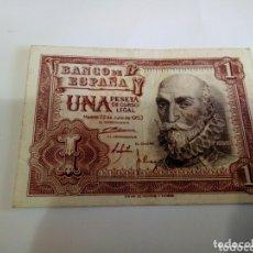 Billetes españoles: BILLETE DE 1 PESETA. Lote 173628348