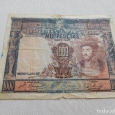 Billetes españoles: BILLETE DE 1000 PESETAS AÑO 1925. Lote 173643403