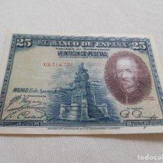 Billetes españoles: BILLETE DE 25 PESETAS AÑO 1928. Lote 173643468