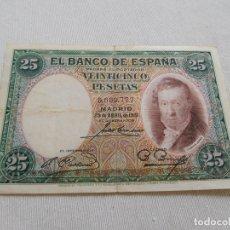 Billetes españoles: BILLETE DE 25 PESETAS AÑO 1931. Lote 173643647