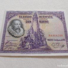 Billetes españoles: BILLETE DE 100 PESETAS AÑO 1928. Lote 173643809