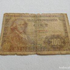 Billetes españoles: BILLETE DE 100 PESETAS AÑO 1948. Lote 173643959