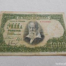 Billetes españoles: BILLETE DE 1000 PESETAS AÑO 1951. Lote 173643988