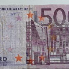 Billetes españoles: BILLETE 500 €. Lote 174028703