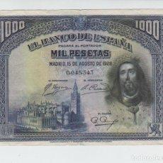Billetes españoles: LOTE DE BILLETES DE 1925 A 1935. Lote 174157520