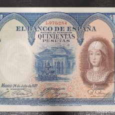 Billetes españoles: BILLETE 500 PESETAS 1927 REINA ISABEL LA CATOLICA. Lote 175326630