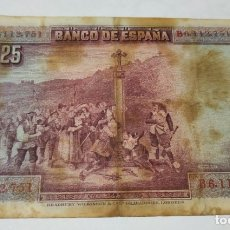 Billets espagnols: BILLETE 25 PESETAS , BANCO DE ESPAÑA , MADRID , 15 DE AGOSTO DE 1928. Lote 175458309