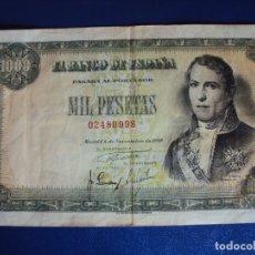 Billetes españoles: (BI-6 BIS) 1000 - MIL PESETAS MADRID 4 NOVIEMBRE 1949 SIN SERIE. Lote 175653643
