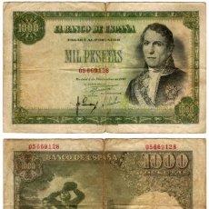 Billetes españoles: 1000 PESETAS 1949. Lote 175871919
