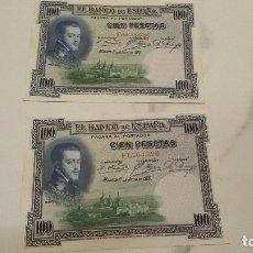 Billetes españoles: BILLETES 100 PESETAS 1925. Lote 176131255