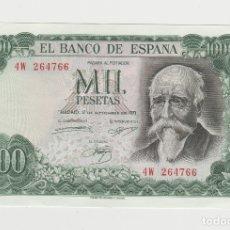 Billetes españoles: 1000 PESETAS-17 DE SETIEMBRE DE 1971-SIN CIRCULAR. Lote 176141114