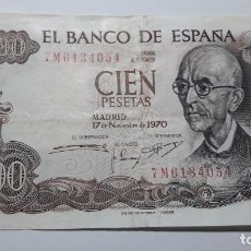 Billetes españoles: BILLETE 100 PESETAS 1970 MANUEL DE FALLA. Lote 176149518