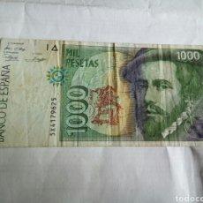 Billetes españoles: BILLETE DE 1000 PESETAS. Lote 176356034