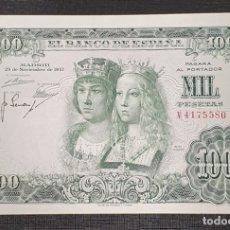 Billetes españoles: BILLETE 1000 PESETAS 1957 REYES CATOLICOS . Lote 176420205