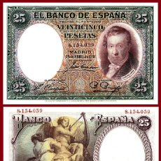 Billetes españoles: ESPAÑA 25 PESETAS 1931 EBC+ AUTENTICO 100% - ESCASO ASI. Lote 176797229