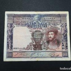Billetes españoles: BILLETE DE 1000 PESETAS DEL AÑO 1925.DE CARLOS I. ORIGINAL. Lote 176834430