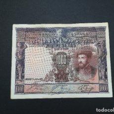Billetes españoles: BILLETE DE 1000 PESETAS DEL AÑO 1925.DE CARLOS I. ORIGINAL. Lote 176835185