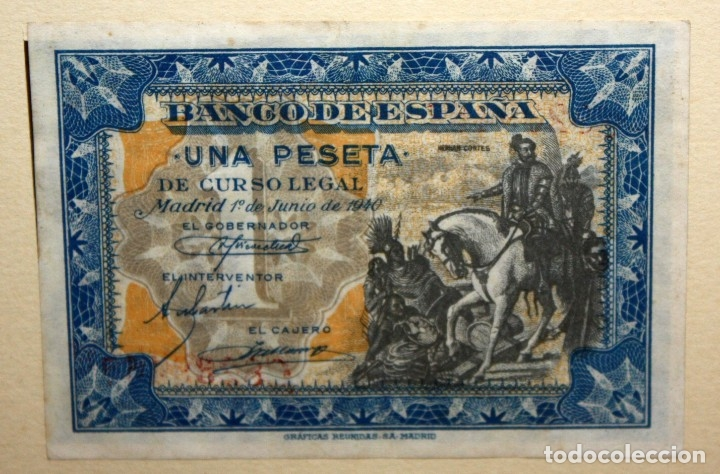 Billetes españoles: CONJUNTO DE 8 BILLETES DE 1 Y 2 PESETAS DE DIFERENTES AÑOS... 1 BURGOS 1940 - 2 BURGOS 1938, ETC.. - Foto 4 - 176983132