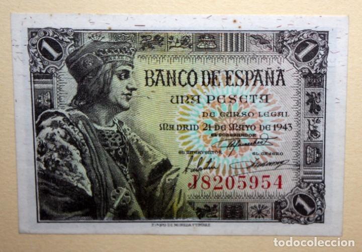 Billetes españoles: CONJUNTO DE 8 BILLETES DE 1 Y 2 PESETAS DE DIFERENTES AÑOS... 1 BURGOS 1940 - 2 BURGOS 1938, ETC.. - Foto 6 - 176983132