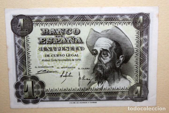 Billetes españoles: CONJUNTO DE 8 BILLETES DE 1 Y 2 PESETAS DE DIFERENTES AÑOS... 1 BURGOS 1940 - 2 BURGOS 1938, ETC.. - Foto 9 - 176983132
